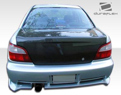 Subaru Impreza 4DR A-Spec Duraflex Rear Body Kit Bumper 2002-2003