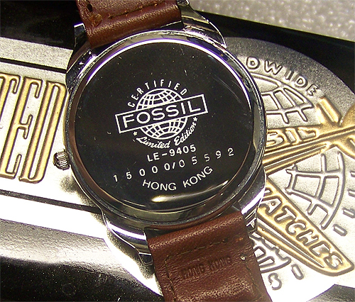 Fossil Airplane Watch Edition Fossil Watch in