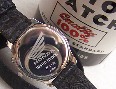 Honda Motor Fossil Watch Vintage Lmt Ed Collectible