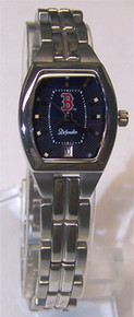 Boston Red Sox Fossil Womens Ladies 3 Hand Analog Logo Watch MLB1008
