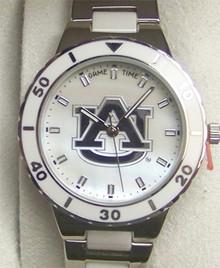 Auburn Tigers Mother of Pearl Watch GameTime MOP womens wristwatch