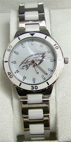 Philadelphia Eagles Pearl Watch Game Time Ladies MOP Womens