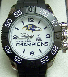 Baltimore Ravens Super Bowl XLVII Watch Mens Game Time Beast Superbowl