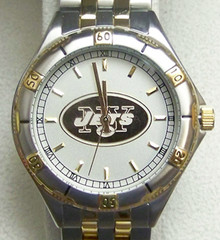 New York Jets Gold Logo Mens Watch Game Time General Managers GameTime