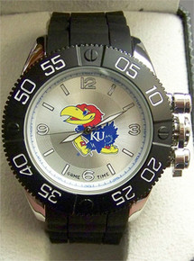 Kansas Jayhawks Game Time Beast Watch Mens KU GameTime COL-BEA-KAN