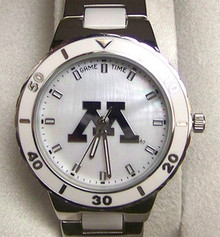 Minnesota Gophers Mother of Pearl Watch GameTime Womens COL-PEA-MIN