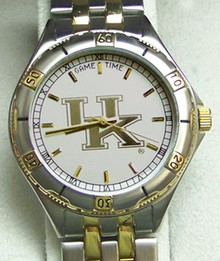 Kentucky Wildcats Watch Game Time General Managers Gold Logo Mens