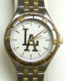 LA Los Angeles Dodgers Watch Mens Game Time General Managers Gold Logo