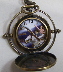 Harry Potter Hermione Time Turner Pocket Watch Pocketwatch Lmt. Ed.