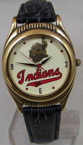 Cleveland Indians Fossil Watch 1948 World Series Champions Wristwatch