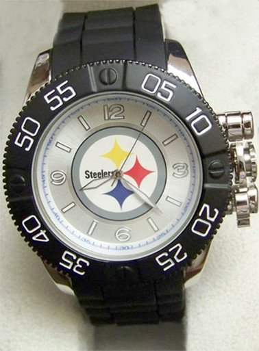 Pittsburgh Steelers Watch Mens Game Time Beast Watch Nfl