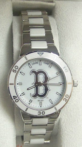 Boston Red Sox Game Time Pearl Watch Ladies mother of pearl Wristwatch