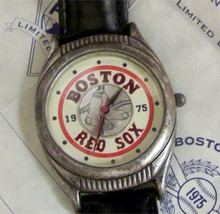 Boston Red Sox Fossil Watch Vintage 1975 American League Champions