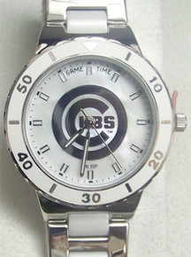 Chicago Cubs Pearl Watch Game Time Ladies womens MOP watch MLB-PEA-CHI