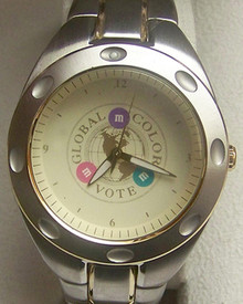 Fossil M&M Watch Mars Global Color Vote Special Edition Wristwatch