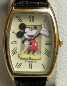 Mickey Mouse Fossil Watch. Vintage Limited Edition Li1453, New.