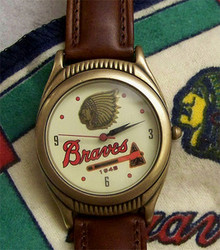 Boston Braves Fossil Watch Set Vintage 1948 National League Champions