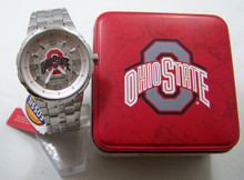 Ohio State buckeyes Fossil Watch Mens Large Logo Li3100 Defender