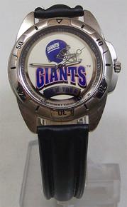 New York Giants Fossil Mens Vintage Watch 1995 Wristwatch