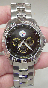 Pittsburgh Steelers Fossil Watch Mens Multifunctiion II wristwatch