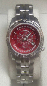 Alabama Crimson Tide Fossil Watch Womens 2009 BCS Championship