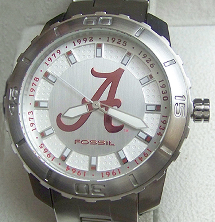 Alabama Crimson Tide Fossil Watch First 12 National