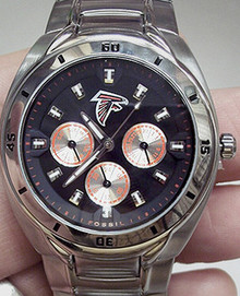 Atlanta Falcons Fossil Multifunction Watch Mens NFL1075 Wristwatch