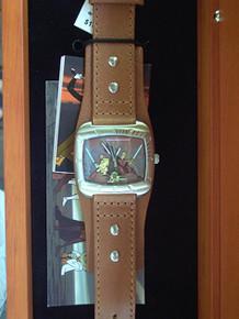 Fossil Clone Wars Watch Obi-Wan Yoda in Wood Box Li2525