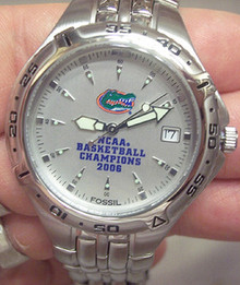 Florida Gators Fossil 2006 National Basketball Champions Watch
