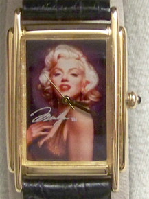 Marilyn Monroe Watch Fossil Limted Edition Postage Stamp Set