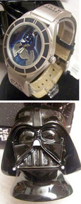 Star Wars Darth Vader Watch Fossil Set with Bust of Vader Li-1625