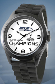 Seattle Seahawks Super Bowl XLVIII Watch Game Time Mens Wristwatch