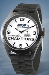Seattle Seahawks Super Bowl XLVIII Watch Game Time Mens Wristwatch