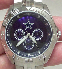 Dallas Cowboys Fossil Watch Mens Multifunction II WristWatch NFL1167