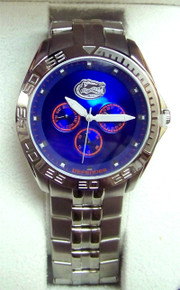 Florida Gators Fossil watch. Mens Multifunction II logo wristwatch