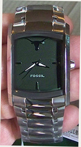 Texas Longhorns Fossil watch Mens Dress Regis wristwatch LI2795 New