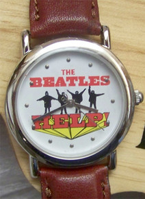 The Beatles Help Watch in Wooden Guitar display case B00101