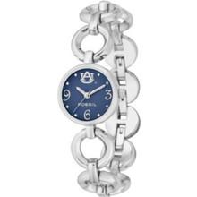 Au Auburn Tigers Fossil Ladies Open Link Bracelet Watch Li2941