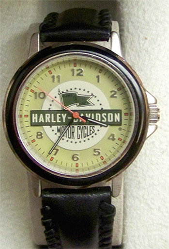harley davidson motorcycles watch fossil vintage