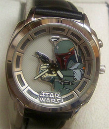 Star Wars Boba Fett Fossil Watch Silver Version Limited Edition