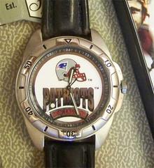 New England Patriots Fossil Mens Vintage Watch 1995 Wristwatch