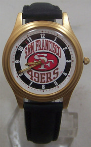 San Francisco 49ers Fossil Watch 1993 Vintage Style Mens Wristwatch