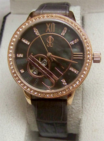 JLo Watch Automatic Rose Gold MOP Wristwatch Jennifer Lopez