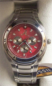 Alabama Crimson Tide Fossil watch Mens Multifunction Wristwatch