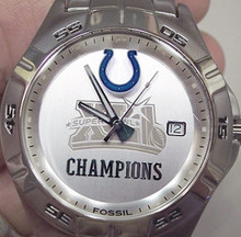 Indianapolis Colts Watch Super Bowl XLI  Fossil NFL1079 Superbowl 41
