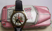 Elvis Presley watch by Fossil Pink Cadillac version Li-1353