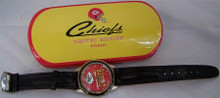 Kansas City Chiefs Fossil Watch Vintage Mens Collectible Set 1994