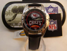 Kansas City Chiefs Fossil Watch Vintage Collectors Mens 96 Wristwatch