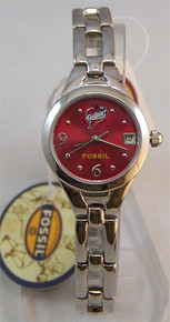 Iowa State Cyclones Fossil Watch Womens, Ladies LI2824 with Date