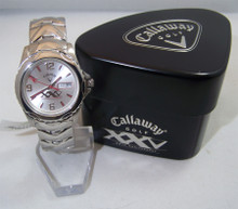 Callaway Golf Watch Mens 25th Anniversary Special Edition Wristwatch